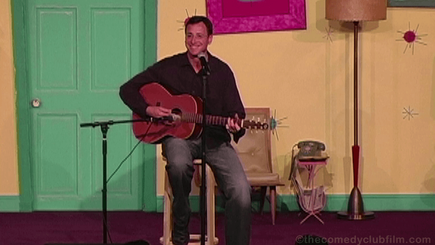 """Bob Saget """"Clapton"""" from the documentary The Comedy Club"""